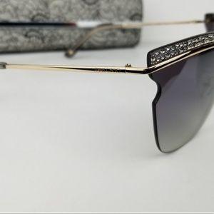 0271361a7948 Jimmy Choo Accessories - Jimmy Choo Jezebel Gray Rose Gold sunglasses 🕶